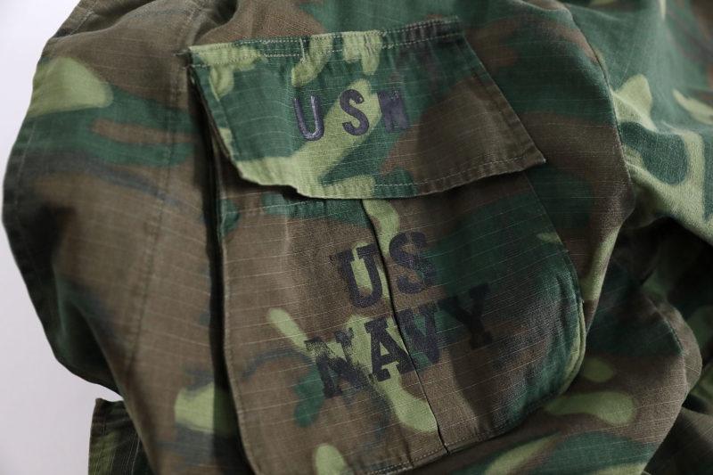 US NAVY SEAL ERDL JUNGLE JACKET VIETNAM WAR