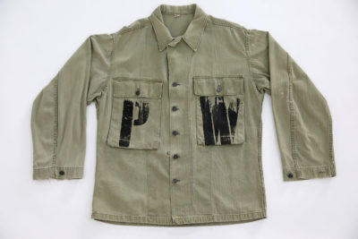 P.O.W WW2 U.S ARMY HBT JACKET