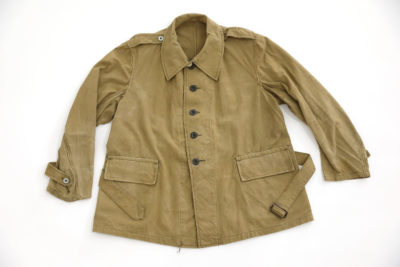 "WW2 FRENCH ARMY ""BOURGERON"" JACKET MODEL 1938"