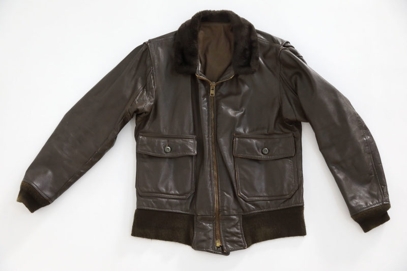 1970's U.S.N G1 FLIGHT JACKET HORSEHIDE LEATHER