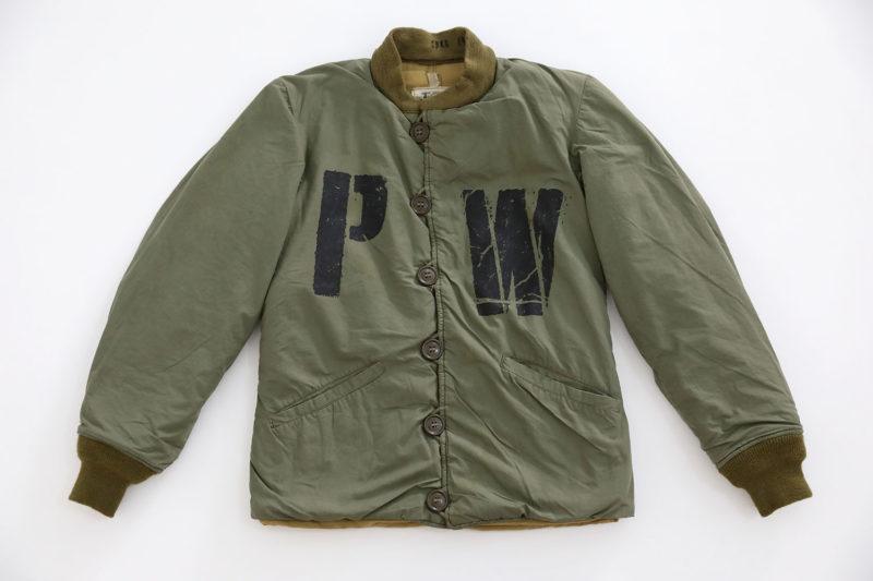 P.O.W WW2 U.S ARMY M1943 PILE JACKET LINER