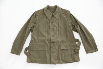 "WW2 FRENCH ARMY ""BOURGERON"" JACKET MODEL 1938 (DATED 1940)"