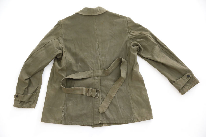 "WW2 FRENCH ARMY ""BOURGERON"" JACKET MODEL 1938 (DATED 1940)"