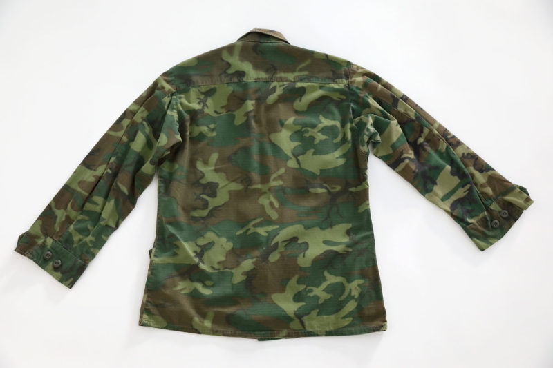 ERDL JUNGLE JACKET VIETNAM WAR U.S.M.C 1969