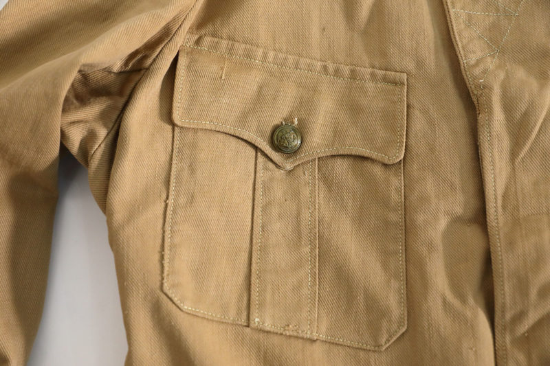 "INDOCHINA WAR FRENCH ARMY JACKET ""TROUPES COLONIALES"" 1945 / 1949"