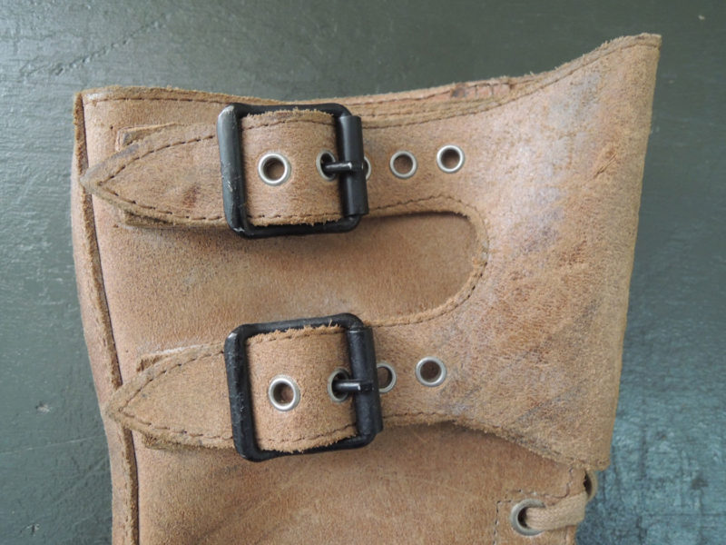 FRENCH ARMY BUCKLE BOOTS 1962